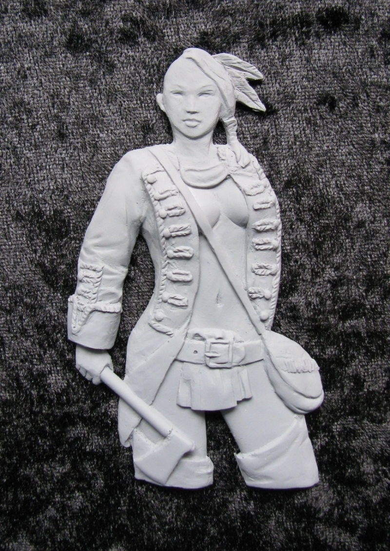 Iroquois Female Warrior