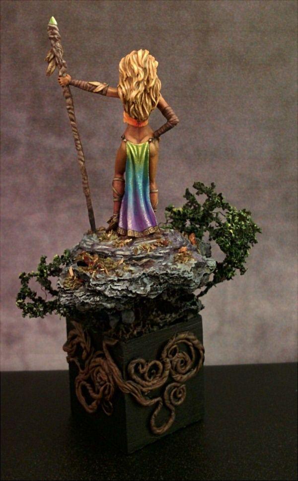 Wood Elf Goddess Rainbow Avatar Form By Kat Martin