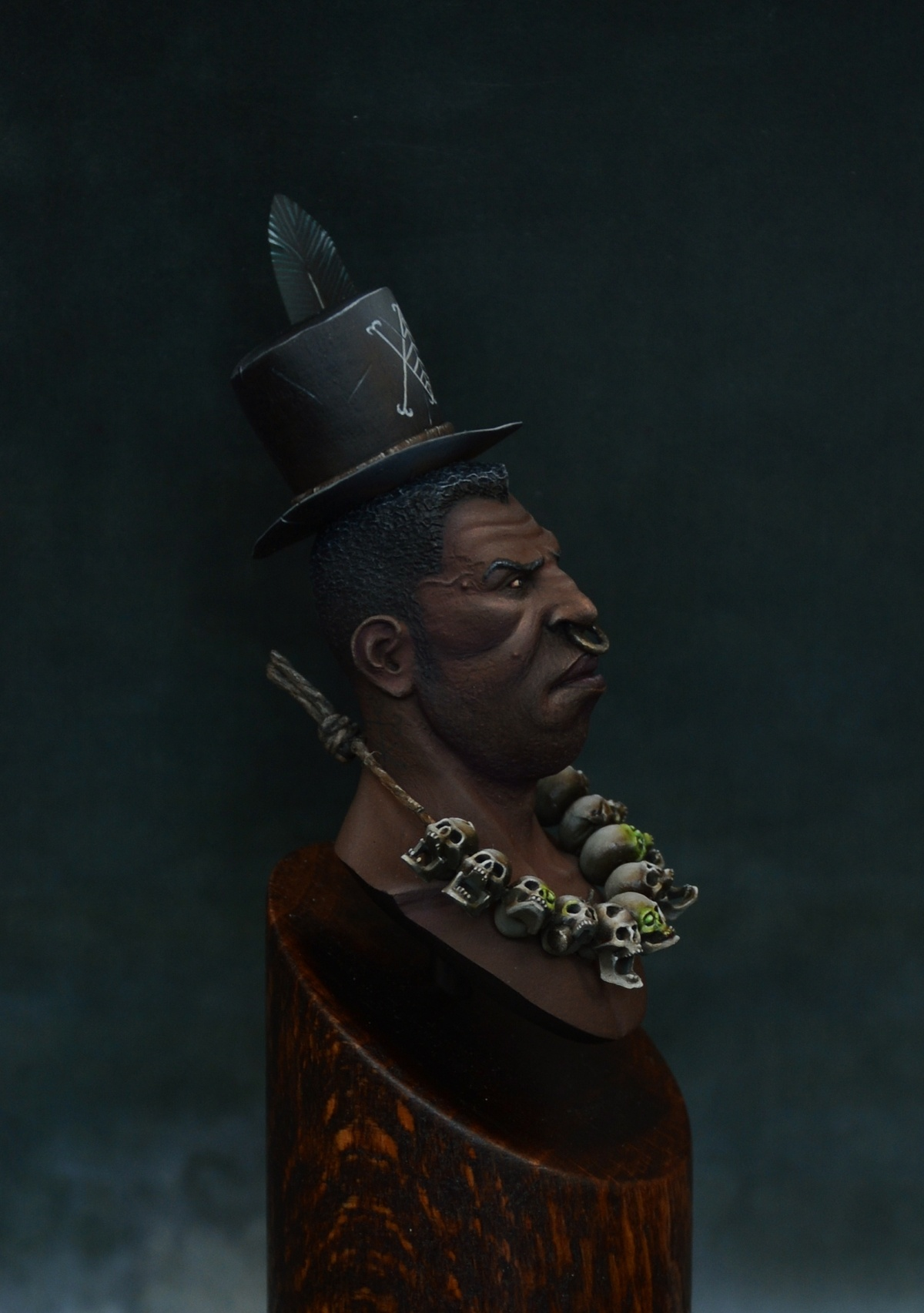 "How Much Is A Paint Job >> Jamal the Voodoo Shaman by Piotrek ""Dexter"" Czajka · Putty ..."