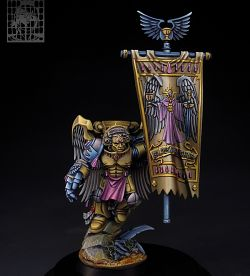 Sanguinary Guard with banner.