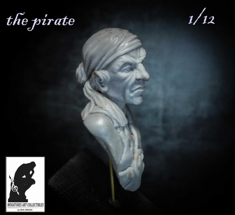 the pirate bust 1/12