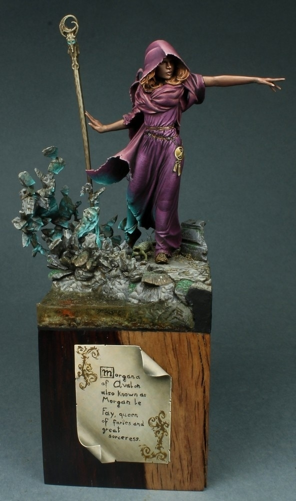 Morgana, H&V Miniatures, 75mm