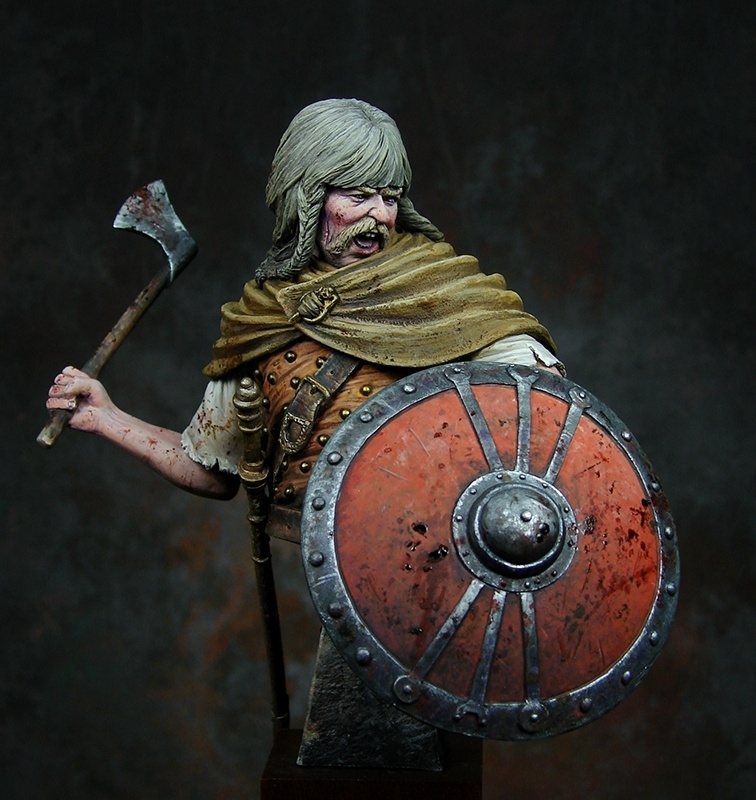 Germanic Frank Warrior By Ernest 183 Putty Amp Paint
