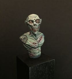 Busto Zombi by Max Richiero