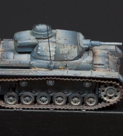 Panzer Typ III scale 1:100