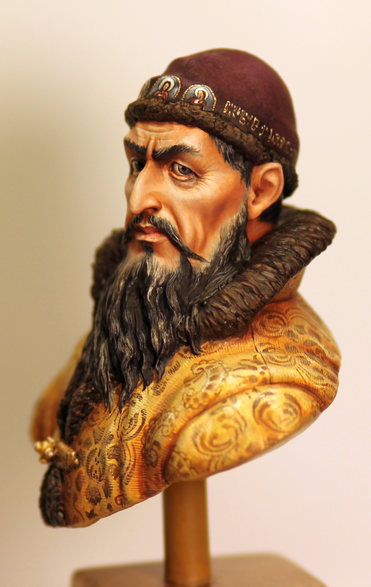 Tsar Ivan Iv The Terrible Sculpted Amp Painted By Me By Olga
