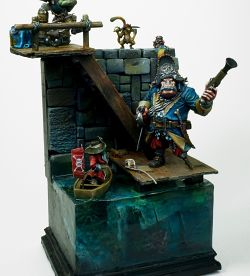 Black Sailors diorama