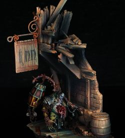 Nurgle Blight King diorama