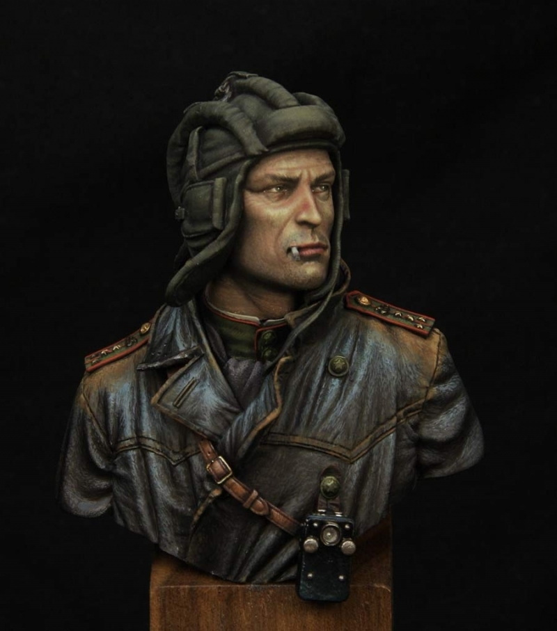 Soviet Tank Commander 1943 Young Miniatures By Kirill