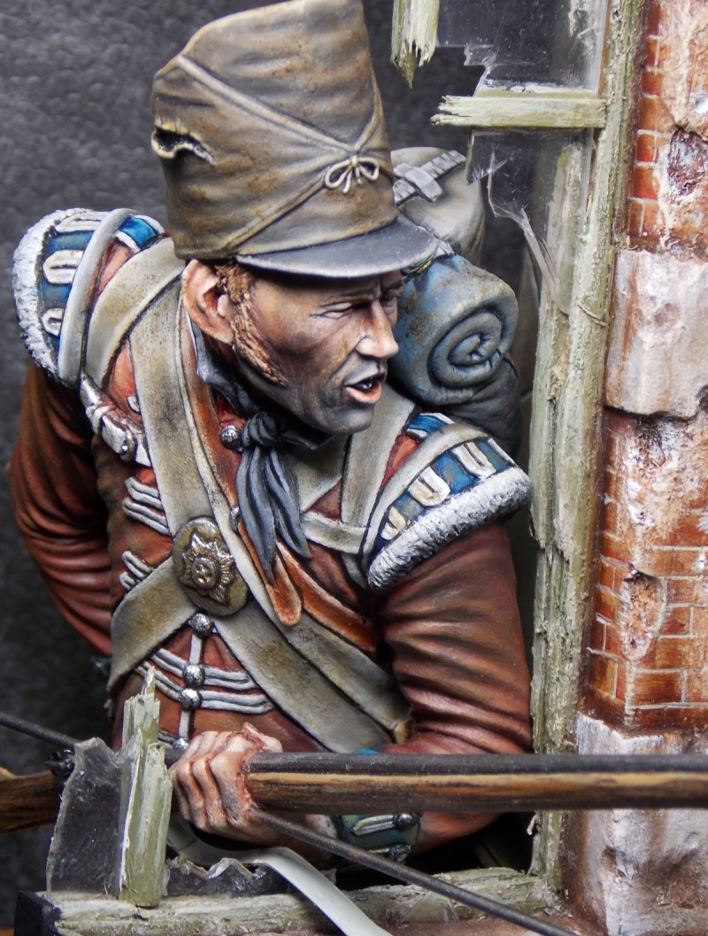 Coldstream Guard Waterloo 1815 By Brian Smith 183 Putty