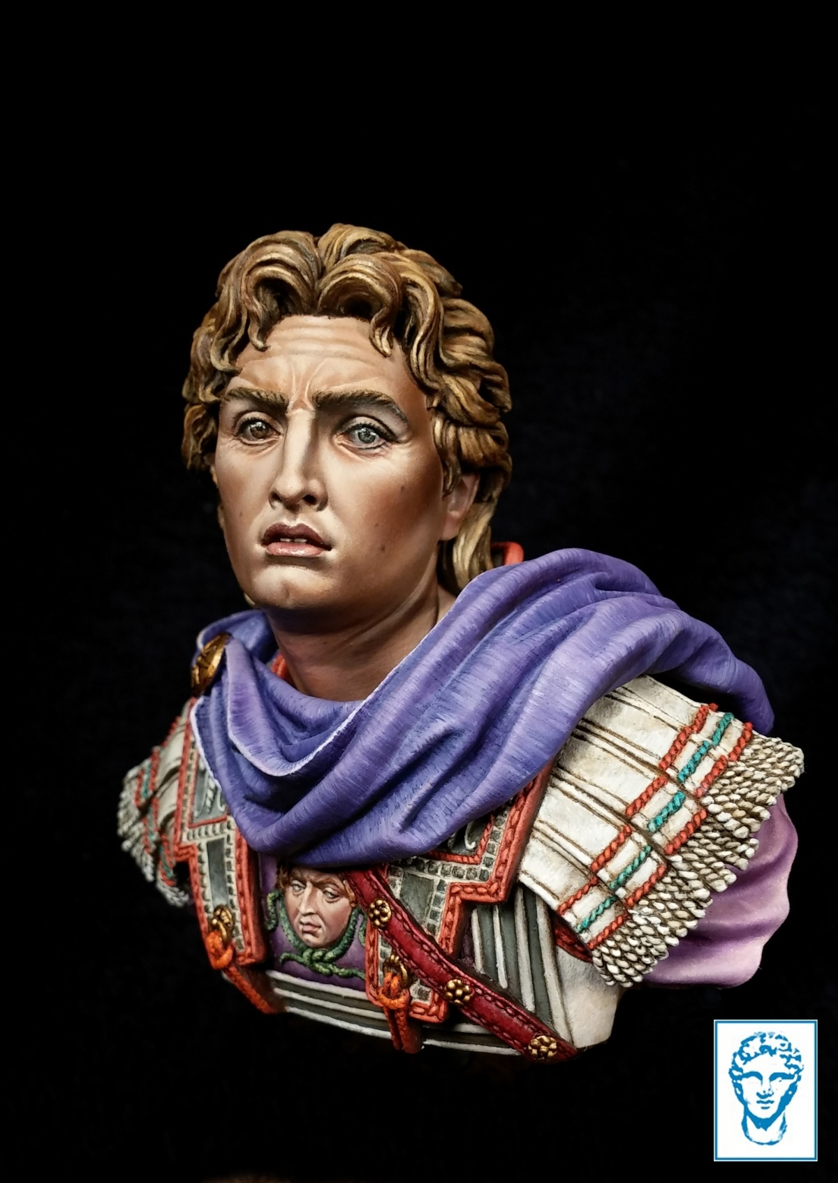 Keep Hope Alive >> Alexander the Great ( ALEXANDROS MODELS) by Alexandre_Cortina_Bonastre · Putty&Paint