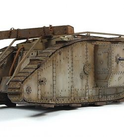 British Mark IV Tank, First World War