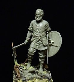 Scandinavian warrior - 54mm