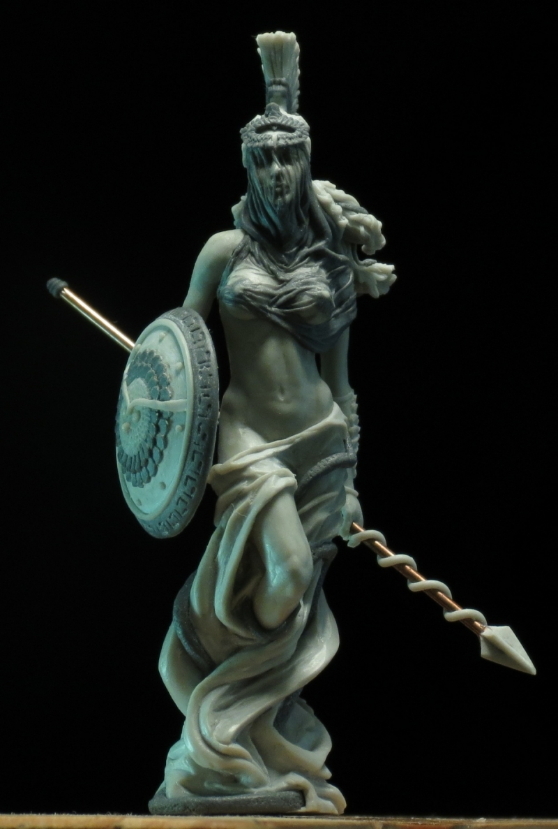 Medusa . 54mm figure for Arena Rex