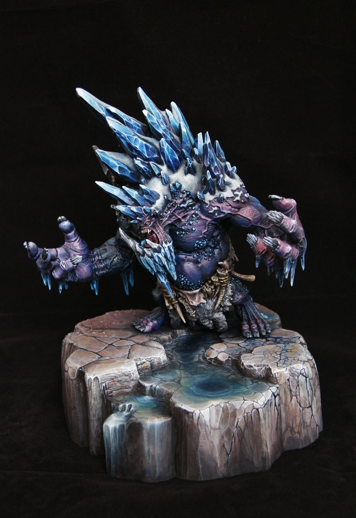 glacier king by kaha katarzyna gorska  u00b7 putty u0026paint