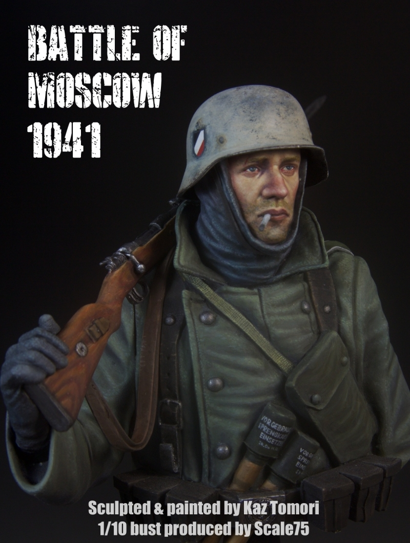 Battle of Moscow 1941 (painted version)
