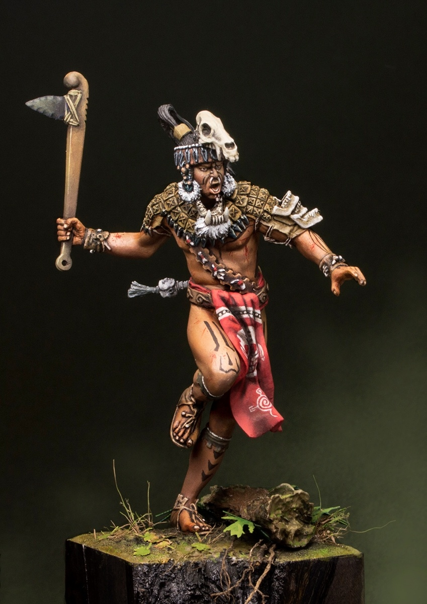Maya Warrior By Ivan Lesnichenko Quot Demoh Quot 183 Putty Amp Paint