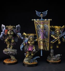 Sanguinary Guards, Full Squad. (15 photos)