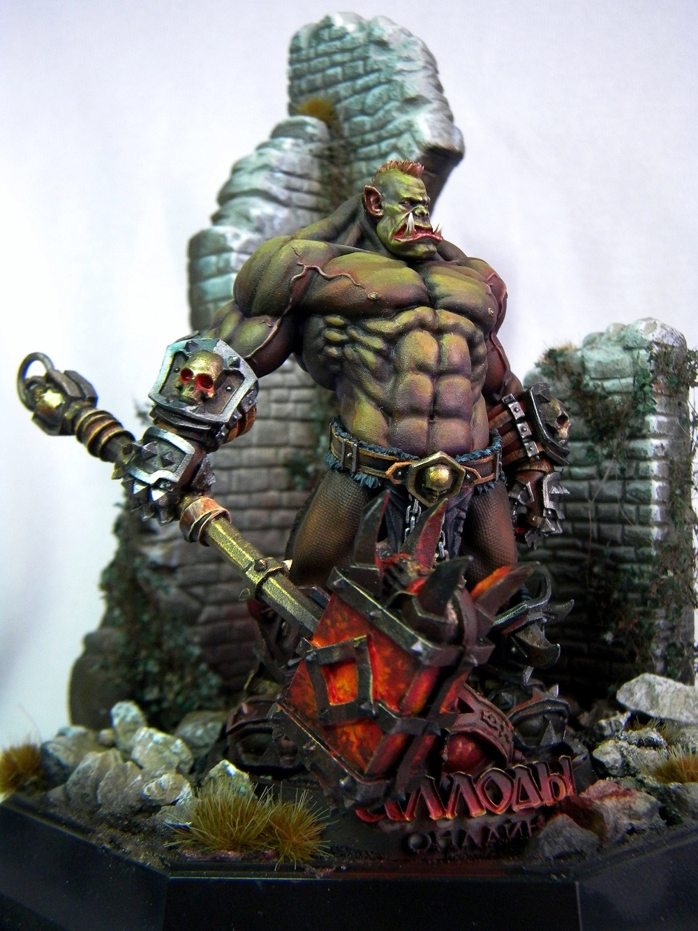 Orc Part 1 Orc Without Armor By A Demidov 183 Putty Amp Paint