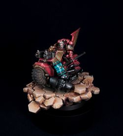 SPACE MARINE GABRIEL ANGELOS, BLOOD RAVENS CHAPTER MASTER