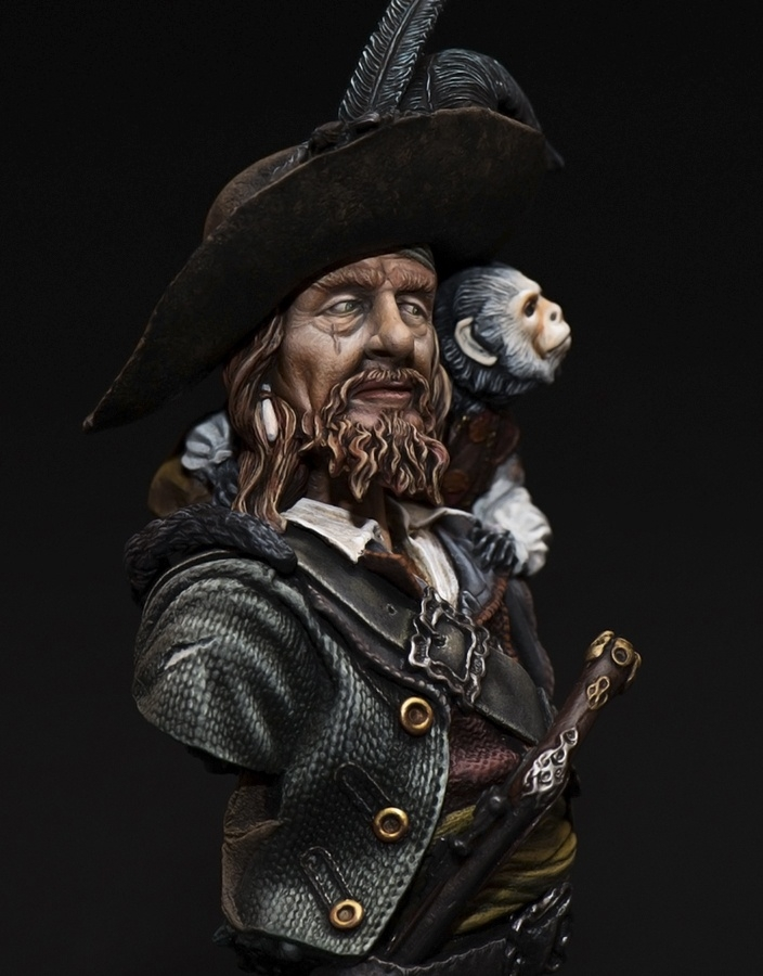 The captain of pirates.