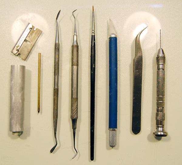 Michael Kontraros' Tools